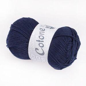 Lana Grossa Cotone Uni von Lana Grossa, Nachtblau