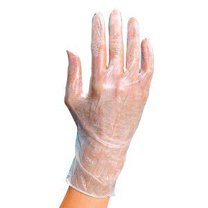 BHK Vinyl Handschuhe Größe M 100 Stück , 100 Stück