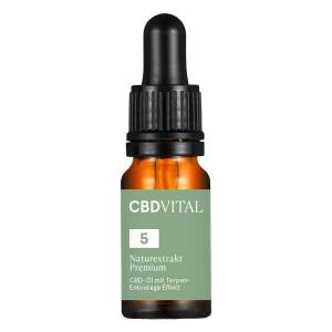 CBD VITAL PREMIUM Naturextrakt Öl 5% 10 ml