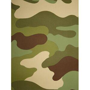 Army Camouflage Wallpaper 10m Rasch 260914