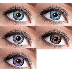 Zölibat Big Eye natürliche Kontaktlinsen 15 mm lila