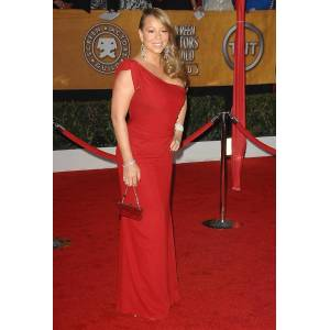 Posterazzi Mariah Carey im Ankunftsbereich für 16. Annual Screen Actors Guild Sag Awards - Ankünfte Shrine Auditorium Los Angeles Ca 23. Januar 201...