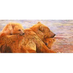 Posterazzi Alaska kommen Poster Print von Graeme Stevenson 36.00 x 18.00