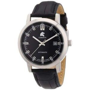 Carucci CAPA-Uhren CA2195BK-Armbanduhr, Mann, Haut, Farbe: schwarz
