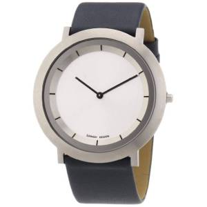 Danish Design 3324486-Armbanduhr, Leder, Farbe: schwarz