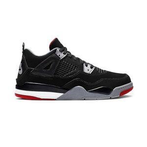 Nike Air Jordan 4 Retro Bred 2019 PS BQ7669060 universal ganzjährig Kinderschuhe schwarz 11.5 Kid UK / 12 US / 29 1/2 EUR / 18 cm