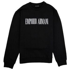 Giorgio Armani Emporio Armani 'Stop Wishing Start Doing' Sweatshirt Nero 0999 3xl