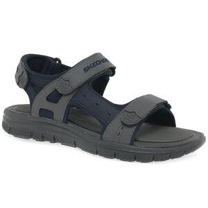 Skechers-Flex Vorteil Upwell Mens Casual Sandalen