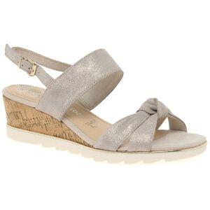 Marco Tozzi Burton Womens Wedge Heel Sandalen