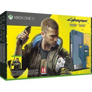 Xbox One X 1TB Konsole Cyberpunk 2077 Limited Edition Xbox One (EU Stock)