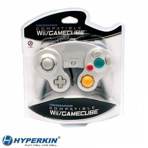 Hyperkin Nintendo Wii/GameCube CirKa Controller Silver Controller