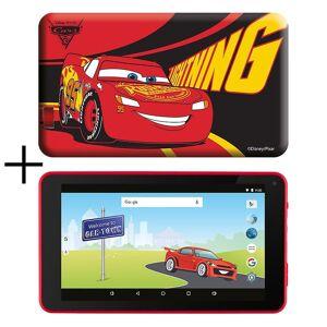 eSTAR 7inch HD Quad Core Kids Tablet & Cars Case mit Preloaded Games MID7388RC