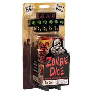 Jackson Steve Jackson Games Zombie Dice Board Games