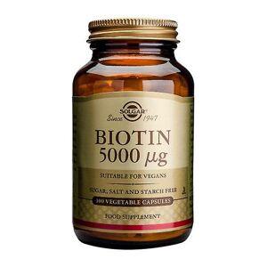 Solgar Biotin 5000ug 100 Veg Kapseln