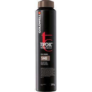 Goldwell Color Topchic The Browns Permanent Hair Color 5BG Hellbraun Braungold 250 ml