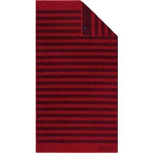 JOOP! Handtücher Classic Stripes Duschtuch Rubin 80 x 150 cm 1 Stk.