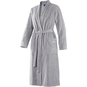 JOOP! Bademäntel Damen Kimono Silber Größe 48/50, Länge 120 cm 1 Stk.