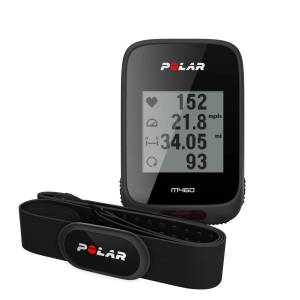Polar M460 Fahrradcomputer mit Herzfrequenzmesser - Einheitsgröße
