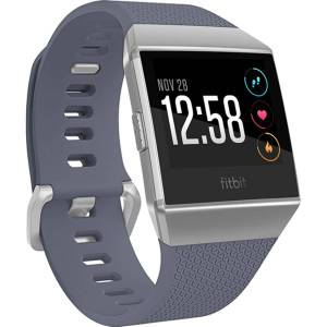 Fitbit Ionic Smartwatch - One Size Blue-Grey & Silver-G   Sportuhren