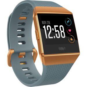 Fitbit Ionic Smartwatch - One Size Slate-Blue & Burnt O   Sportuhren