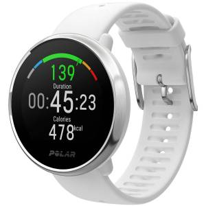 Polar Ignite GPS Uhr (mit Silikonarmband) - M/L White Sillicone