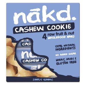 nakd. Riegel (4 x 35 g, Mehrstückpackung) - 4 Pack Cashew Cookie