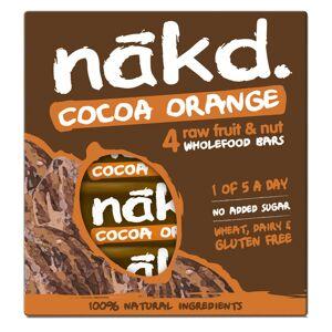 nakd. Riegel (4 x 35 g, Mehrstückpackung) - 4 Pack Cocoa Orange