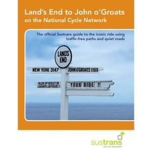 Cordee Land's End to John o'Groats on the National Cycle Reiseführer (auf Englisch)