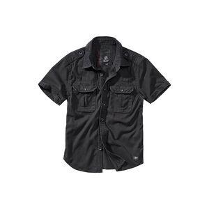 Brandit Textil Brandit Vintage Shirt Shortsleeve schwarz, Größe XXL