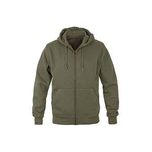 keine Angabe Premium Kapuzen Pullover Zip oliv, Größe XL