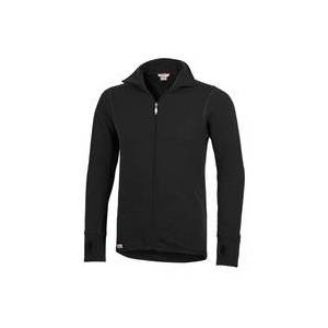 Woolpower Full Zip Jacket 400 Wolljacke schwarz, Größe L