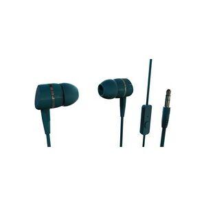 Vivanco SMARTSOUND PETROL HiFi In Ear Kopfhörer In Ear Petrol