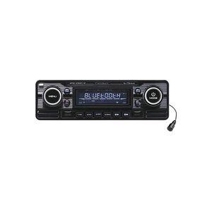Caliber Audio Technology RMD-120BT/B Autoradio Retro Design, Bluetooth®-Freisprecheinrichtung