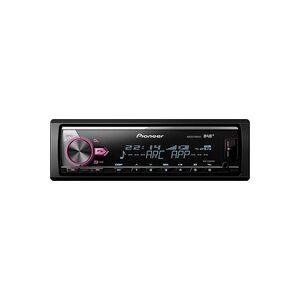 Pioneer MVH-X580DAB Autoradio DAB+ Tuner, Anschluss für Lenkradfernbedienung, Bluetooth®-Freisprec
