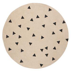 Ferm Living KIDS -Triangle runde Matte 100 cm