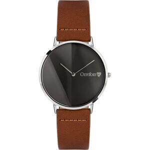 Orrefors-O-Time Watch, Brandy/Gunmetal