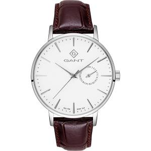 GANT Time-Park Hill III Watch, White/Strap