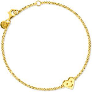 Sophie by Sophie-Happy Heart Bracelet, Gold