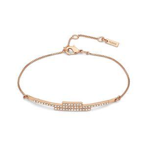Pilgrim-Kama Bracelet, Roségold/Crystal