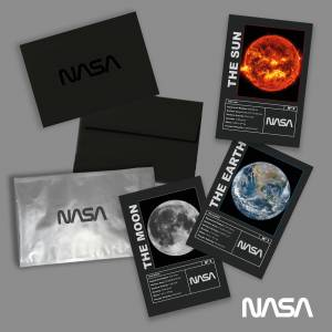 NASA Mission Earth, Moon and Sun Art Prints