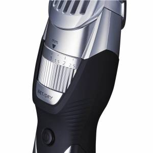 Panasonic ER-GB52 Nass und Trocken Bartschneider und Körpertrimmer (19x Schnittlängen, Körper Attachment) – Schwarz