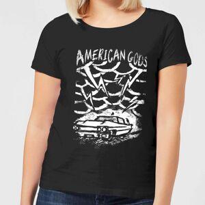 American Gods Car Storm Damen T-Shirt - Schwarz - XL - Schwarz