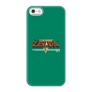 Nintendo The Legend Of Zelda Retro Logo Smartphone Schutzhülle - iPhone 5/5s - Snap Hülle Matt