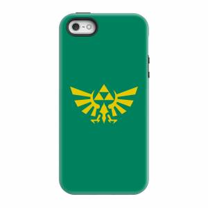 Nintendo The Legend Of Zelda Hyrule Smartphone Schutzhülle - iPhone 5/5s - Tough Hülle Glänzend