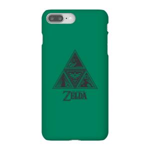 Nintendo The Legend Of Zelda Triforce Smartphone Schutzhülle - iPhone 8 Plus - Snap Hülle Matt