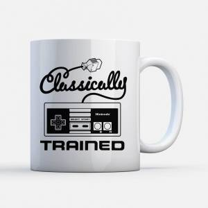 Nintendo NES Classically Trained Tasse