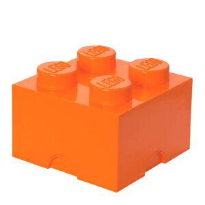 Lego Aufbewahrungsbox 4er - Orange