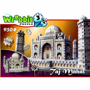 Wrebbit Taj Mahal 3d Puzzle (950 Stücke)