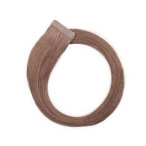 Rapunzel® Hair extensions Quick & Easy Premium Glatt 7.3 Cendre Ash 50 cm