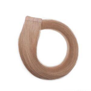 Rapunzel® Hair extensions Quick & Easy Premium Glatt 7.5 Dark Blonde 30 cm